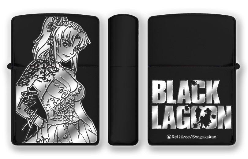 【20周年記念展会場販売】BLACK LAGOON Zippo 会場限定版は広江礼威サイン刻印入り!